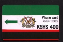 Phonecard First Kenya Telephone card Rare #147